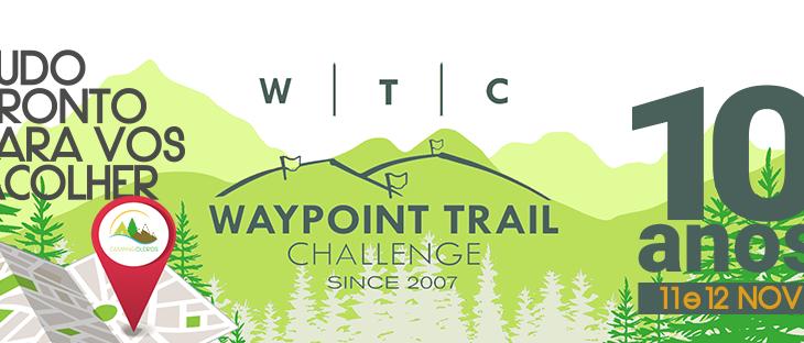RECEBEMOS O WAYPOINT TRAIL CHALLENGE